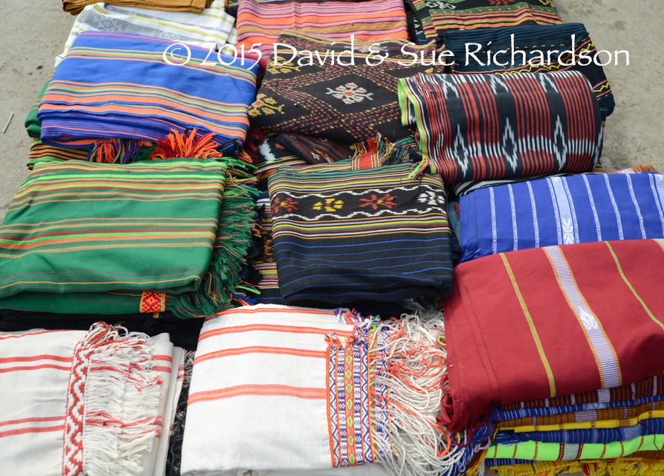 Description: Textiles from West Sumba