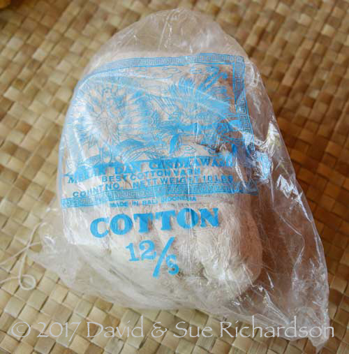 12/S cotton yarn
