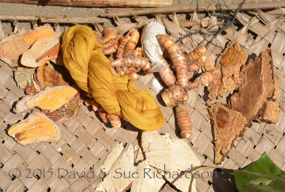 Yellow Dyes - Asian Textile Studies