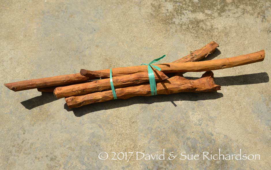 Description: Kayu kuning obtained from the market